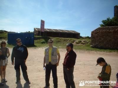 Yacimiento Arqueológico Celtibérico y Romano de Tiermes; grupos de montaña madrid; agencias sende